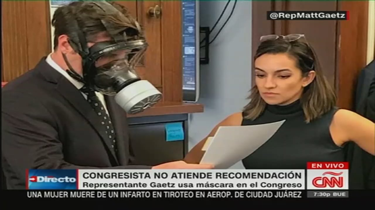 Gaetz's Use of Gas Mask On House Floor Was A 'Clown Move ...