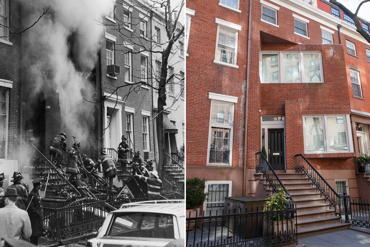 The Weather Underground townhouse 50 years after it blew up