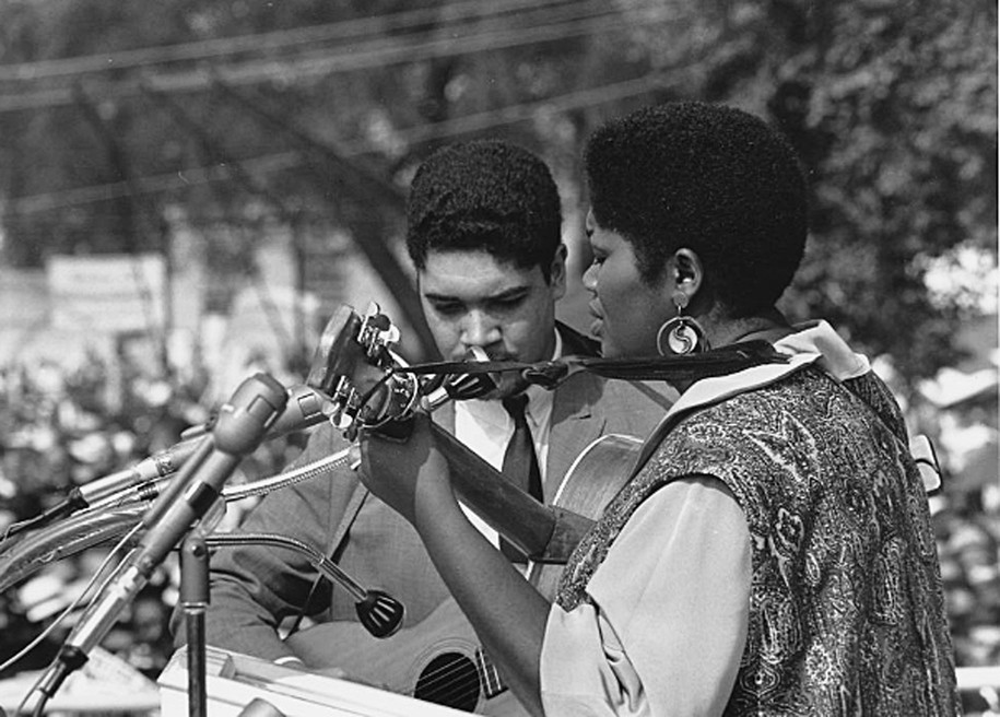 Black folk musicians created the soundtrack for a movement—and helped Bob Dylan find his sound