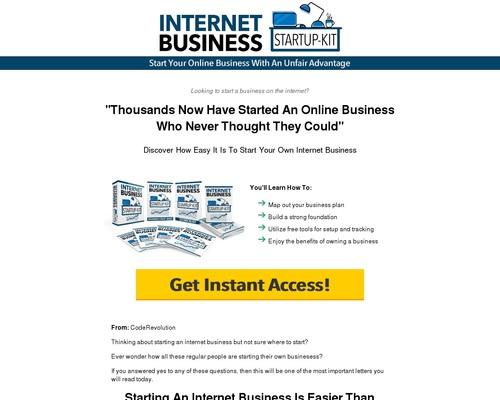 Internet Business Startup Kit Advanced | CodeRevolution