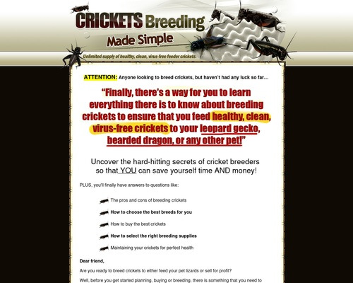 Crickets Breeding Made Simple – Easiest Way to Breed Feeder Crickets