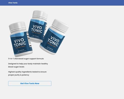 Vivo Tonic – Presentation